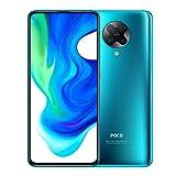 Xiaomi Poco F2 Pro 5G - Smartphone de 6.67' (Super AMOLED Screen, 1082 x 2400 pixels, Qualcomm SM 8250 Snapdragon 865, 4700 mAh, Quad Camera, 8 K Video, 6 GB/128 GB RAM), Neon Blue
