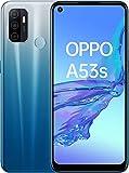 Oppo A53S – Pantalla de 6.5' (Neo-Display de 90Hz, 4GB/128GB, Snapdragon 460, 5000mAh, Carga Rápida 18W, Dual Sim) Azul [Versión ES/PT]