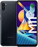 SAMSUNG Galaxy M11 | Smartphone Dual SIM, Pantalla de 6,4'', Cámara 13 MP, 3 GB RAM, 32 GB ROM Ampliables, Batería 5.000 mAh, Android, Color Negro