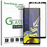 amFilm Protector Pantalla Galaxy Note 9, Anti-Burbujas Cristal Vidrio Templado Protector de Pantalla para Samsung Galaxy Note 9 (Negro)