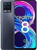realme 8 Pro Smartphone Libre, Cámara cuádruple Ultra de 108 MP, Pantalla completa AMOLED superior de 6,4', Carga SuperDart de 50W, Batería de 4500 mAh, Dual Sim, 6+128GB, Negro (Infinite Black)