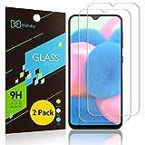 Didisky - Protector de pantalla de cristal templado para Samsung Galaxy A30s, [2 unidades] [toque suave] [fácil de limpiar] transparente