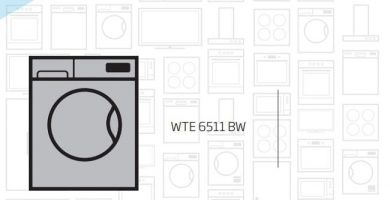 beko wte6511bw manual