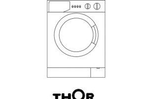 lavadora thor tl2 500 instrucciones.