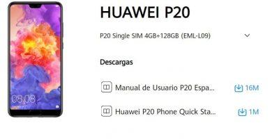 manual huawei p20 en español pdf.