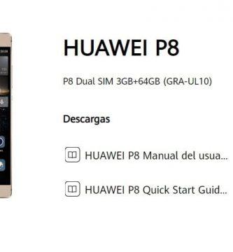 manual de usuario huawei p8 en español pdf.