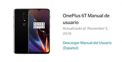 oneplus 6t manual español