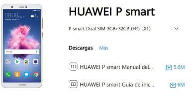 manual de usuario huawei p smart