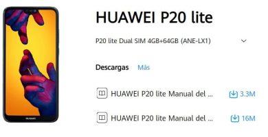 manual del huawei p20 lite en español pdf.