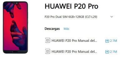 manual de usuario huawei p20 pro