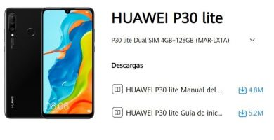manual de usuario huawei p30 lite