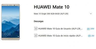 manual huawei mate 10 en español.