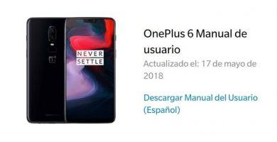 manual oneplus 6 español