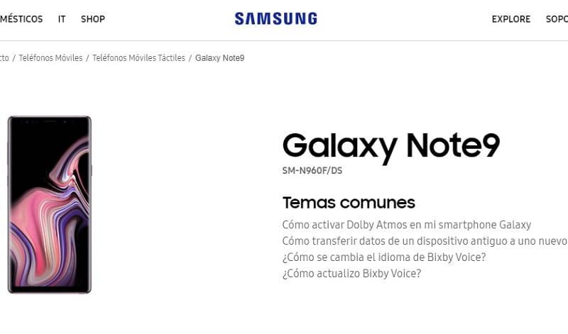samsung galaxy note 9 manual en español pdf.