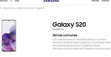 manual del samsung galaxy s20 en español pdf.