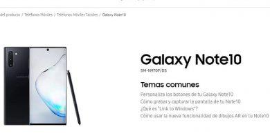 manual de usuario samsung galaxy note 10 en español pdf.