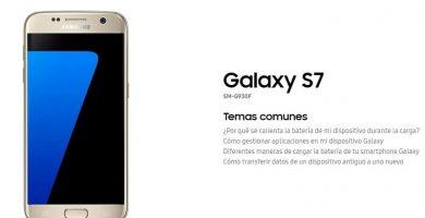 manual de usuario samsung galaxy s7 en español pdf.