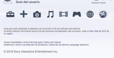 manual de usuario psp online en español.