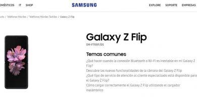 manual de usuario samsung galaxy z flip en castellano pdf.