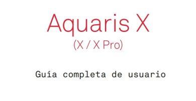 manual de usuario aquaris x pro en español.