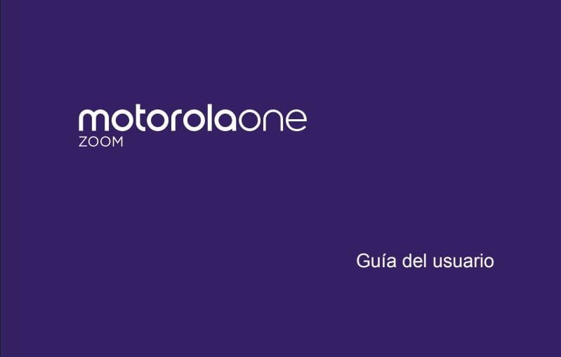 manual de usuario motorola one zoom en pdf.