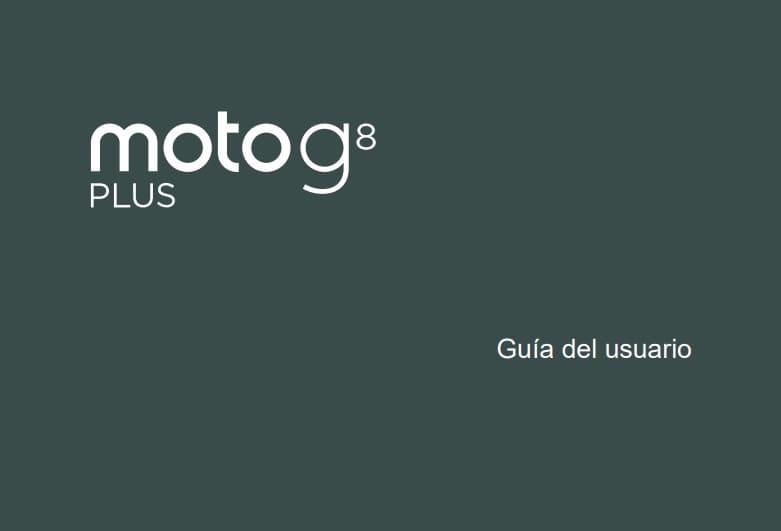 manual moto g8 plus en español pdf.
