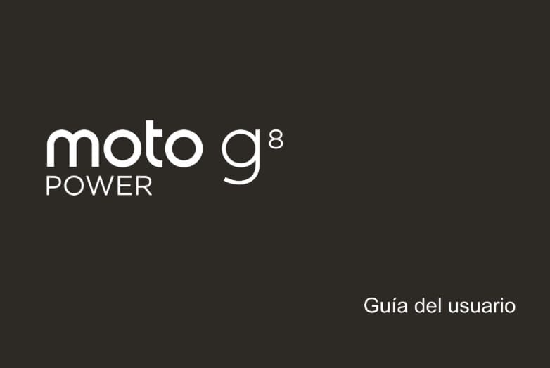 manual de usuario moto g8 power.