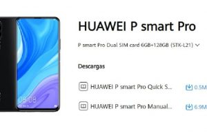 manual de huawei smart p pro