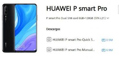 manual de huawei smart p pro