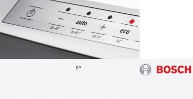 Manual Lavajillas Bosch Silence Plus SPV40E10EU PDF