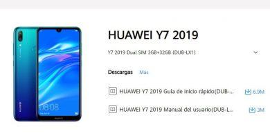 manual huawei y7 2019.