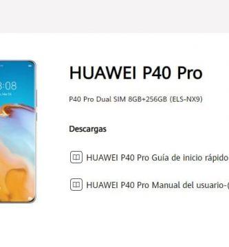manual de usuario huawei p40 pro pdf.