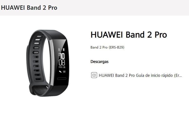 HUAWEI Band 2 Pro pdf.