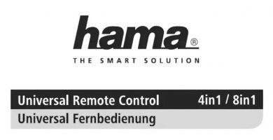 Hama Universal 4in1 manual pdf.