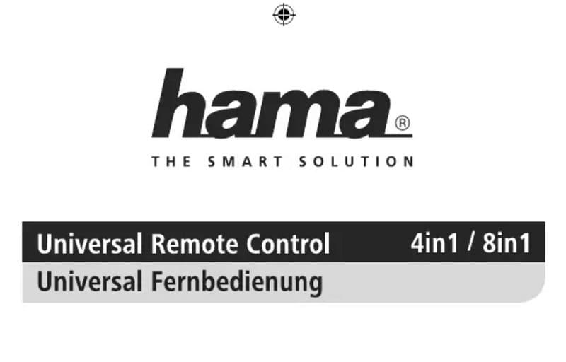 Hama Universal 4in1 manual pdf.