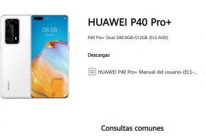 manual huawei p40 pro+ pdf.