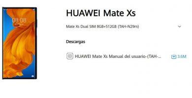 Manual De Usuario Huawei Mate XS Español PDF.
