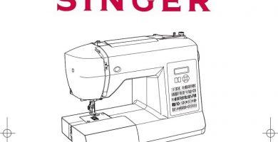 singer brillance máquina de coser pdf.