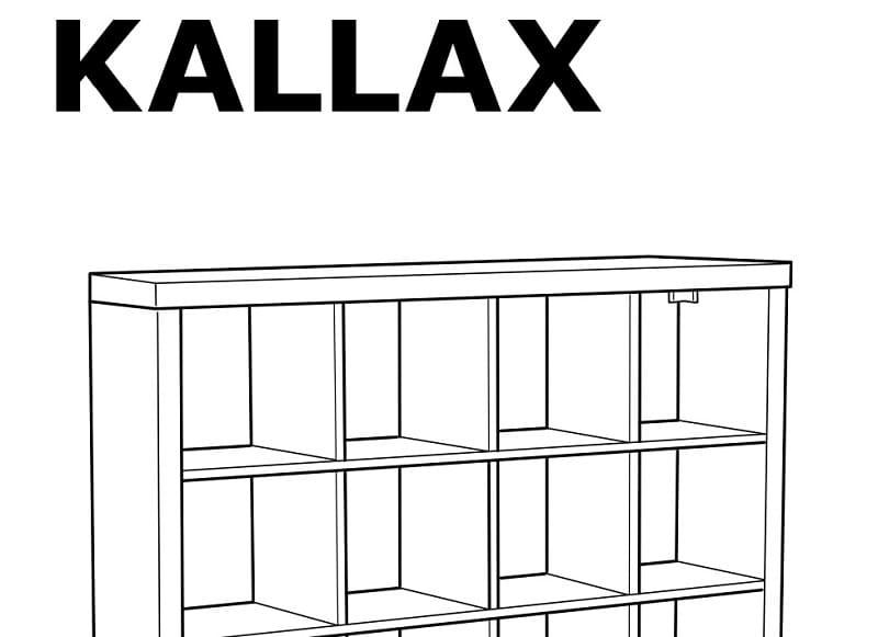 estantería ikea kallax pdf.