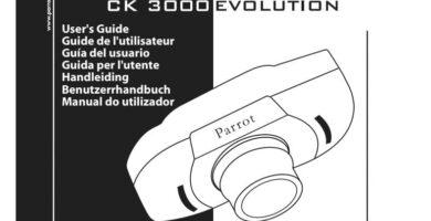 Manual De Instrucciones Parrot CK3000 Evolution en PDF