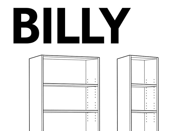 estanteria billy ikea pdf.