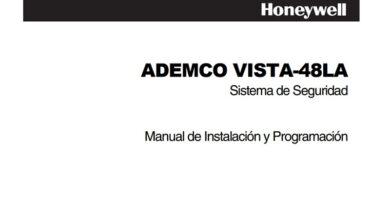 Honeywell ADEMCO VISTA-48LA pdf