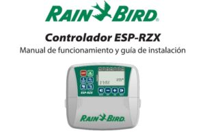 Rainbird ESP-RZX pdf.