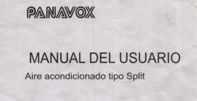 manual panavox split.