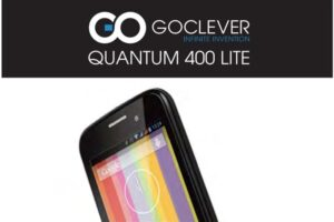 GoClever Quantum 400 Lite pdf.
