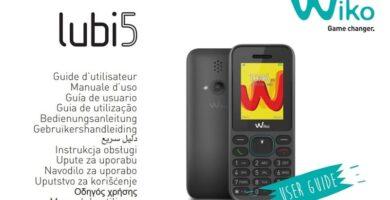 manual Wiko Lubi 5 PDF.