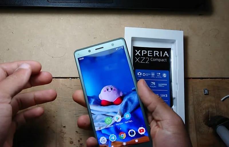 Sony Xperia XZ2 Compact pdf.